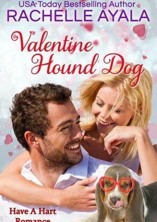 Valentine Hound Dog by Rachelle Ayala
