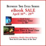 Crossing in Time (Between Two Evils #1) by D. L. Orton {Book Spotlight}