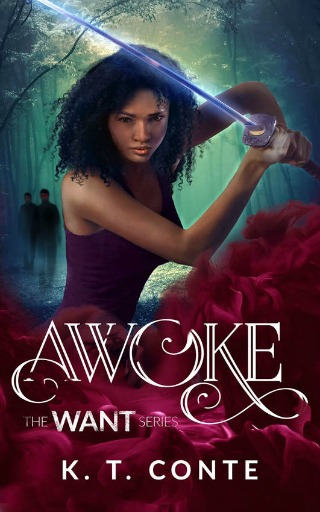 Awoke (The Want Series) by K.T. Conte {Book Review}