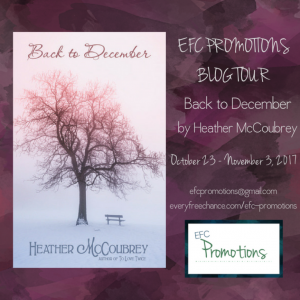 EFC Promotions Blog Tour Kickoff Back to December by Heather McCoubrey