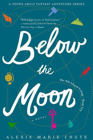 Below the Moon by Alexis Marie Chute {YA Book Review}