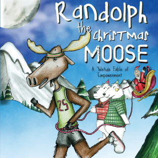 Randolph the Christmas Moose: A Yuletide Fable of Empowerment by Gerry Gibson (Author), Matt Taylor (Illustrator) {Children's Book Review}