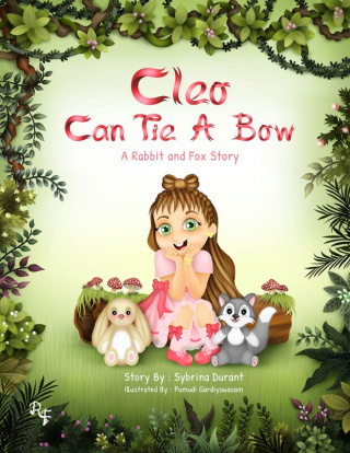 Cleo Can Tie a Bow: A Rabbit and Fox Story by Sybrina Durant {Children's Book Reivew}