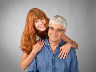 Author Jean-Jacques Trochon with Heather Whitehall-Trochon